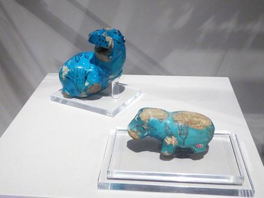 92. Museo Egipcio. Hipopótamos. Imperio Medio. XI-XIII dinastía. 1980-1700 a. C.