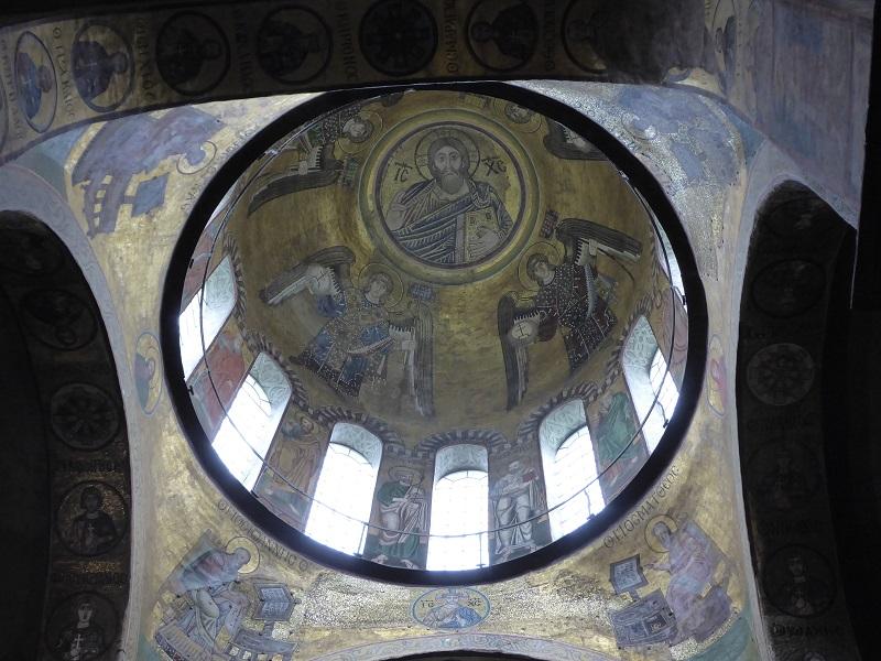 137. Catedral de Santa Sofía. Cúpula central
