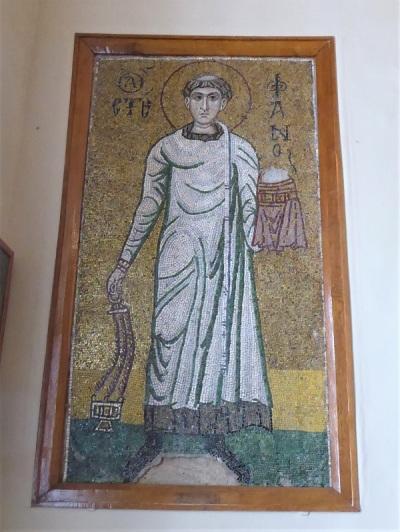 174. Catedral de Santa Sofía. Archidiacono Esteban. XII. Procede de San Miguel de las Cúpulas Doradas