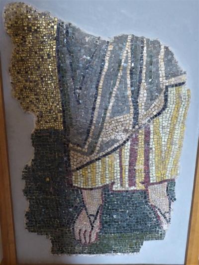 175. Catedral de Santa Sofía. Fragmento mosaico XII