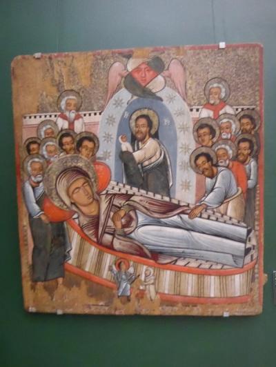 510. Museo de Bellas Artes. Dormición de la Virgen. XVI