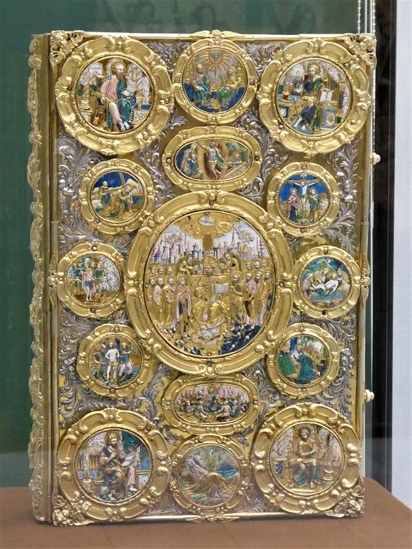 511. Museo de Bellas Artes. evangeliario Mazepas. 1701