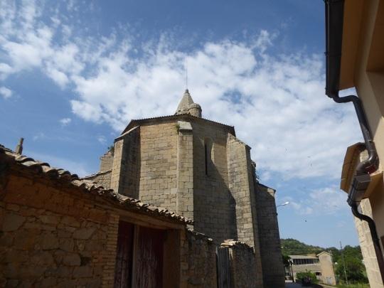 Iglesia parroquial de Laguarres